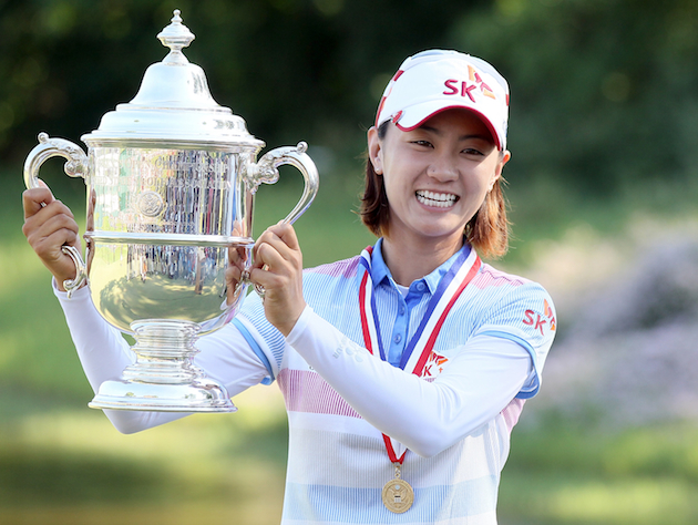 U.S. Women's Open winner Na Yeon Choi / Getty Images