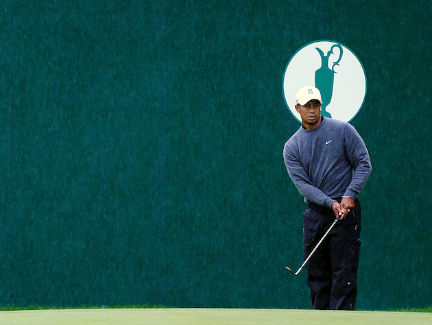 Tiger Woods? Yep, he's still the Open Championship favorite. — Getty Images