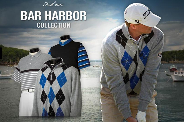 The Bar Harbour line is one of four Fall collections from FootJoy. — FootJoy