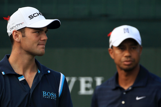 Martin Kaymer and Tiger Woods will be seeing a lot of each other at Kiawah. — Getty Images