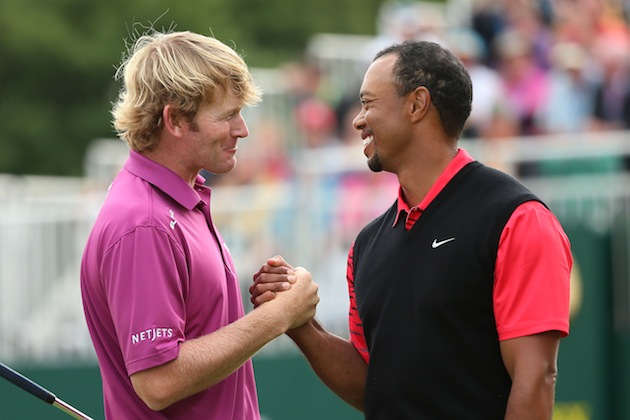 Brandt Snedeker, Tiger Woods — Getty Images