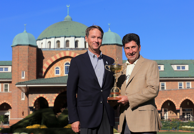 Who ya got: Davis Love III and the U.S. or Jose Maria Olazabal and the Euros?