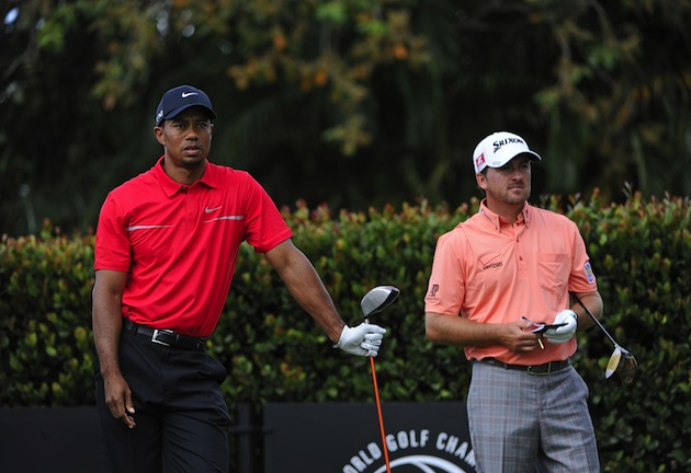 Tiger Woods, Graeme McDowell — Getty Images