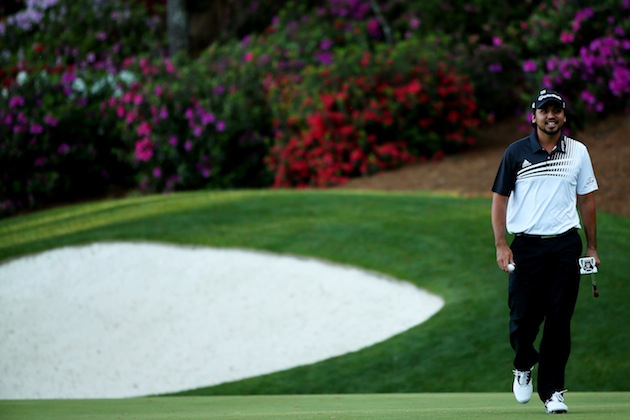 Jason Day is leading the Masters after two rounds — Getty Images