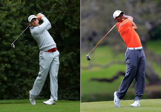 Sergio Garcia, Tiger Woods — Getty Images