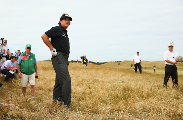 Phil Mickelson — Getty Images