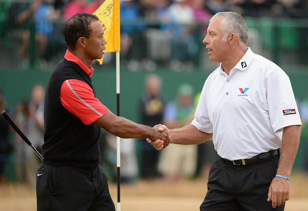 Tiger Woods, Steve Williams — Getty Images