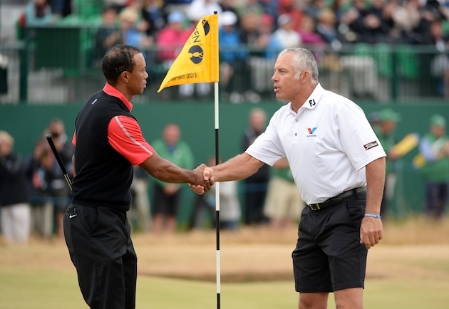 steve williams says he and tiger woods made up at the british open