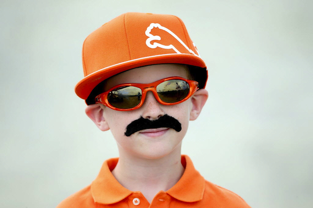 One of Rickie Fowler's many fans / Getty Images