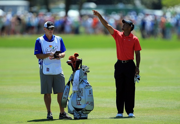 Tiger Woods, winning? That can't be right. Oh, but it is. (Getty Images)