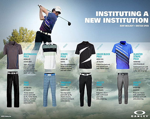 Here's what Tiger Woods and Rory McIlroy will be wearing at Royal Lytham