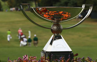 The FedEx Cup, she waits. (Getty Images)