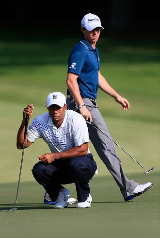 Tiger and Rory. (Getty Images)