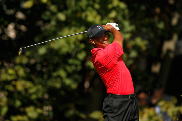 Tiger Woods, on the hunt. (Getty Images)