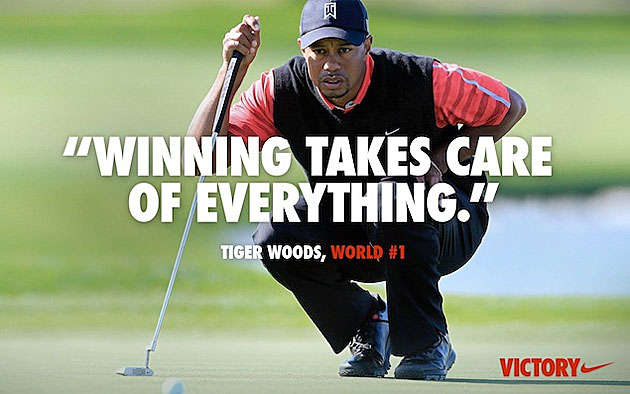 Does the new Tiger Woods Nike ad upset you? Come on, really?