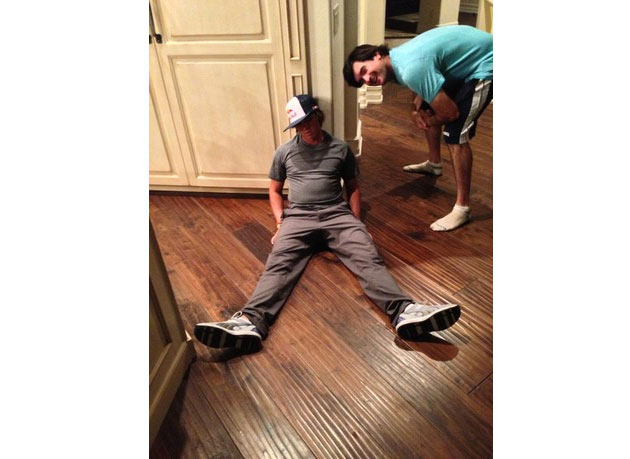 Jason Dufner slouches, kicks off the latest trend in golf: 'Dufnering'