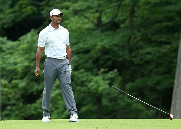 Tiger's had better days. (Getty Images)