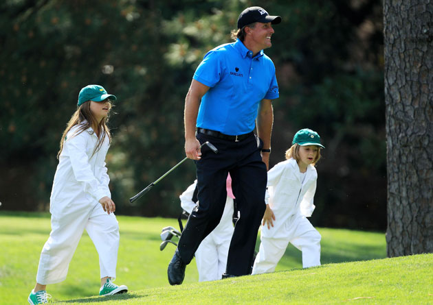 Phil Mickelson will attend the graduation of daughter Amanda (left). (Getty Images)