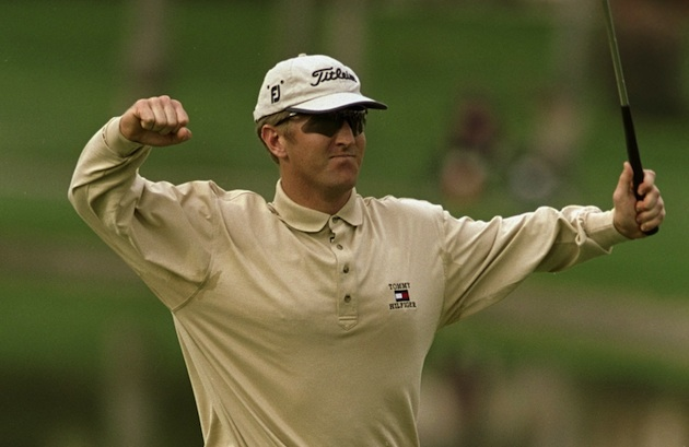 David Duval at the 1999 Bob Hope — Getty Images