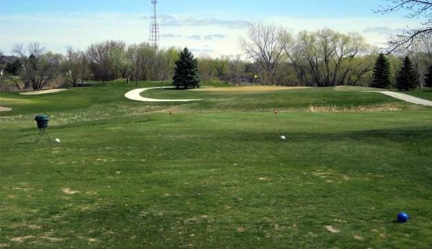 Rose Creek's par-3 fourth hole was the site of the incredible feat / FSNorth