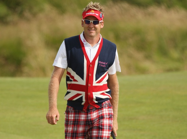 Ian Poulter in '09 — Getty Images
