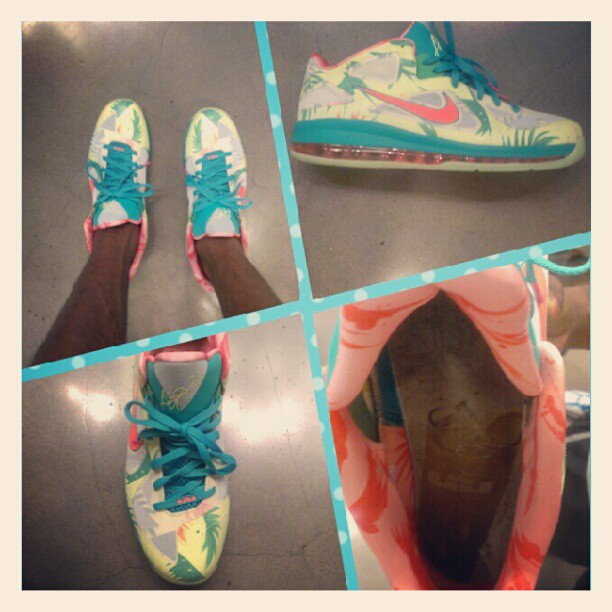 Behold: the LeBronold Palmer 9 lows. — KingJames330's Instagram
