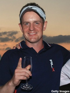 luke donald getty images