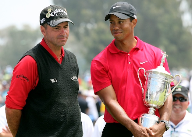 Rocco Mediate, Tiger Woods — Getty Images