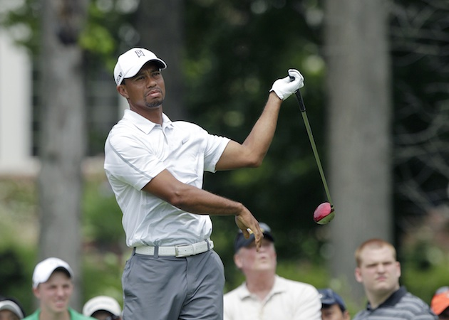 Tiger Woods — AP