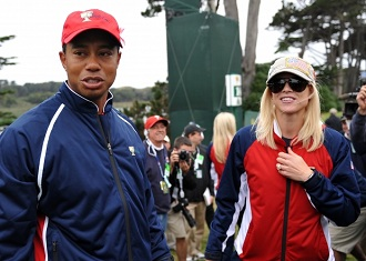 Tiger Woods and Elin Nordegren (Getty Images)