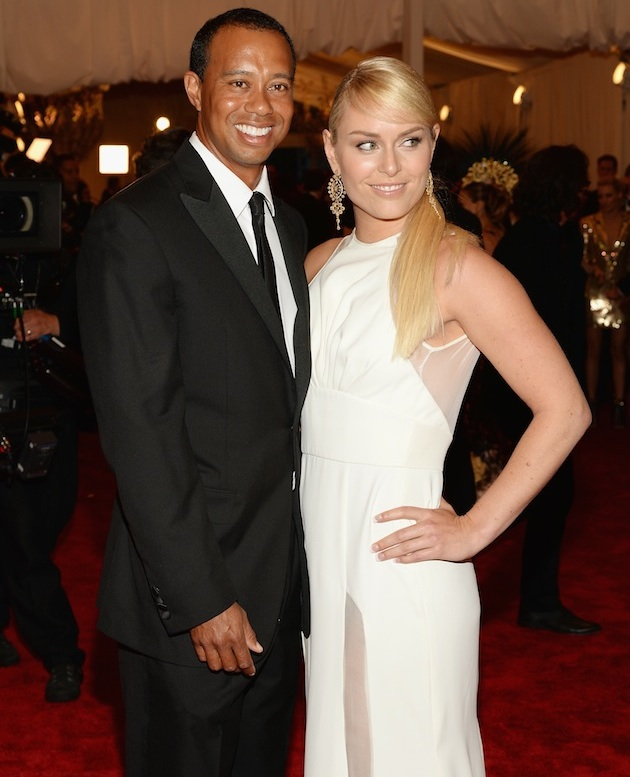 Tiger Woods, Lindsey Vonn — Getty Images
