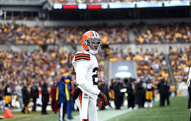 Browns cornerback Joe Haden is among several athletes to buy promissory notes from Success Trade. (Getty)