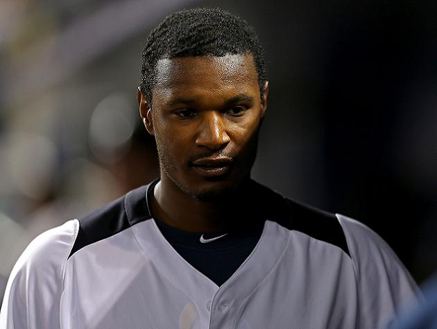 A dejected Adam Jones following Team USA's loss to Puerto Rico (Getty)