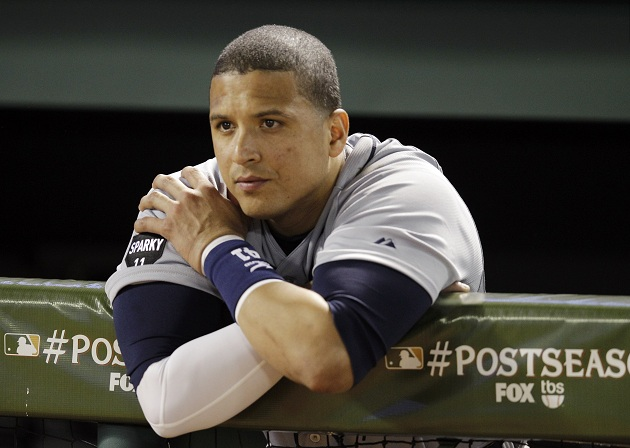 Victor Martinez hit .330 and drove in 102 runs for the Detroit Tigers in 2011. (AP)