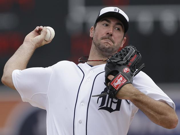 Tigers ace Justin Verlander tops the list. (USA Today)