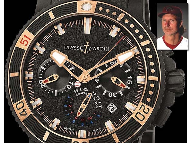 Big Unit watch: Presenting the $15,500 Randy Johnson-model timepiece