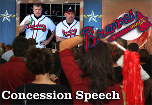 Concession Speech: 2012 Atlanta Braves