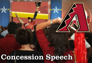 Concession Speech: 2012 Arizona Diamondbacks