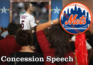 Concession Speech: 2012 New York Mets