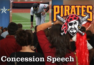 Concession Speech: 2012 Pittsburgh Pirates