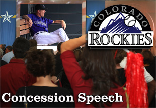 Concession Speech: 2012 Colorado Rockies