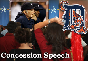 Concession Speech: 2012 Detroit Tigers