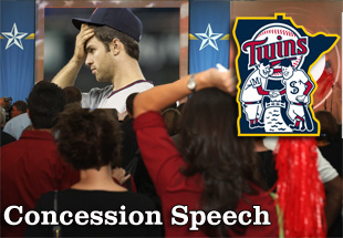 Concession Speech: 2012 Minnesota Twins