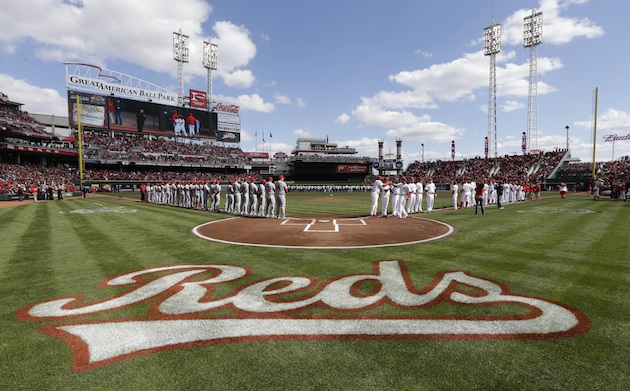 Great American Ball Park on opening day 2013 (AP)