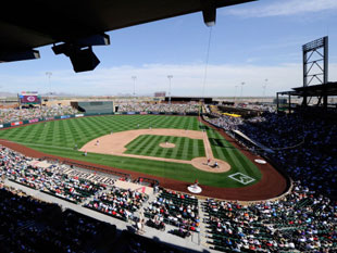 Salt River Fields. (Getty)