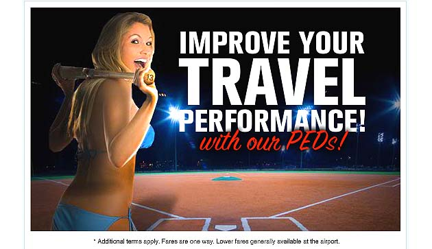 Spirit Airlines uses 'A-Rod,' 'PED' advertising puns