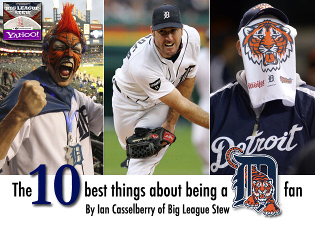 The 10 best things about being a Detroit Tigers fan
