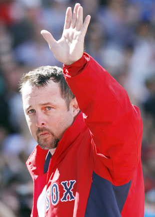 Tim Wakefield pitched 17 seasons for the Red Sox. (AP)