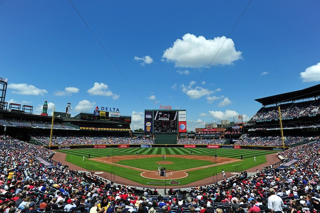Turner Field in May 2013 (Getty Images)