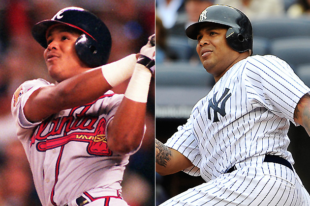 The Curse of Andruw Jones (AP photos)